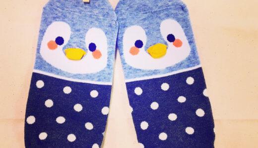 【くつした日記】ペンギンの靴下